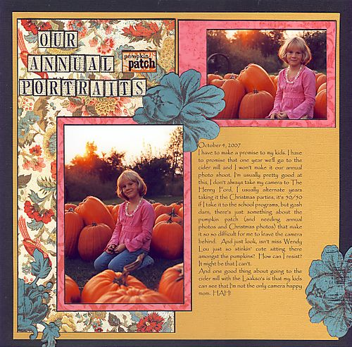 Pumpkin portaits
