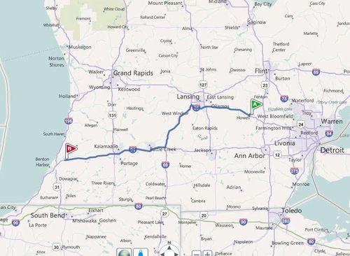 144 miles