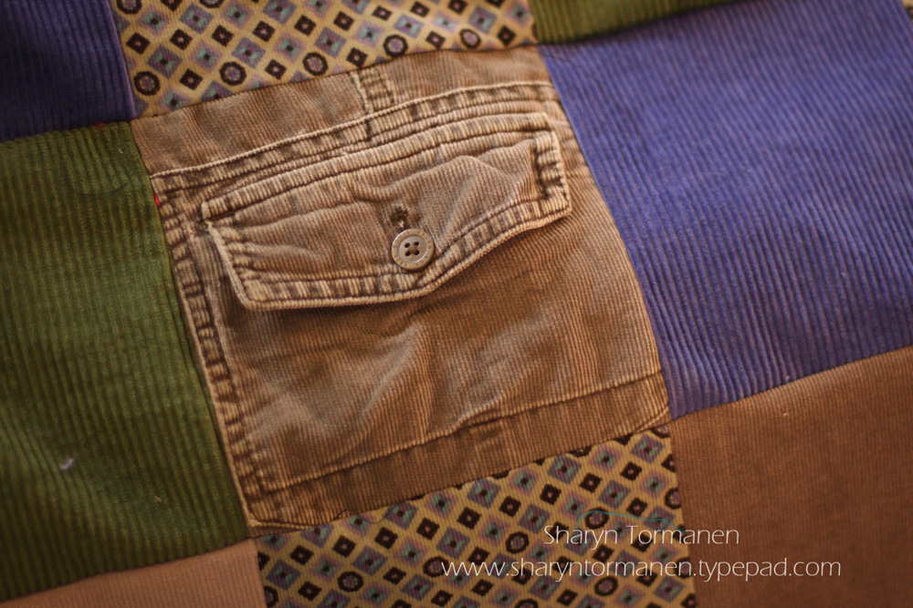 Live from Tormville!: January Project: corduroy quilt : corduroy quilts - Adamdwight.com