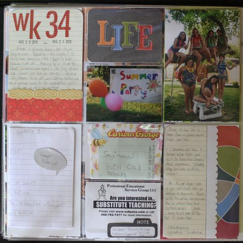 Project life week 34 006