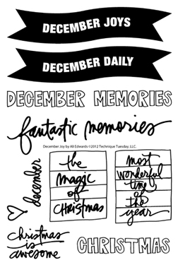 Technique-Tuesday-December-Joys-By-Ali-Edwards-Clear-Stamps-Medium