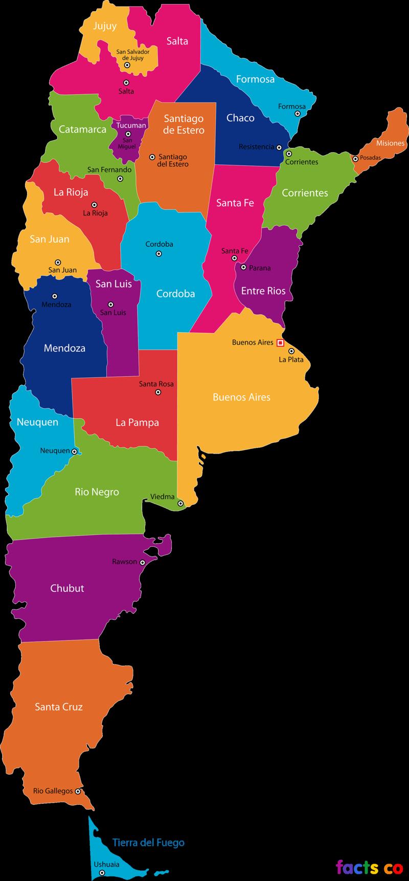 ArgentinaStatesMap