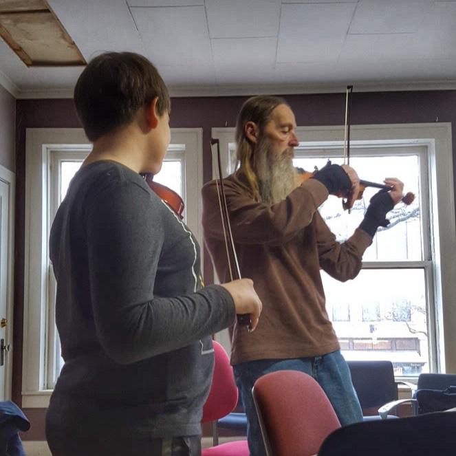 Fiddle lesson