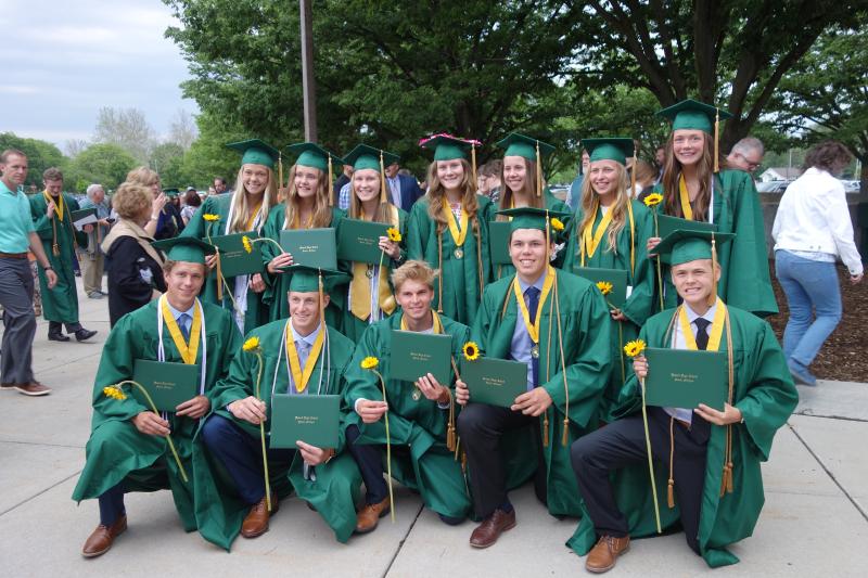 Graduation 208