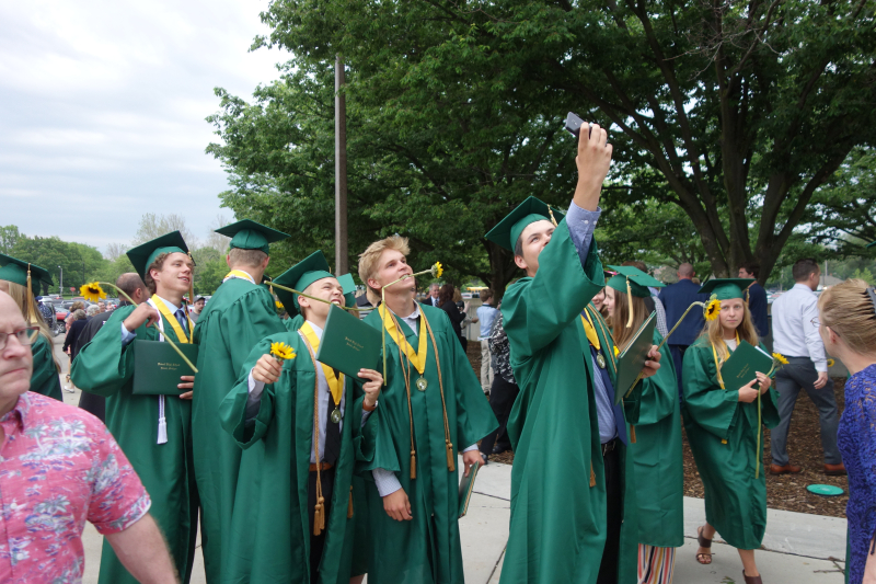 Graduation 215