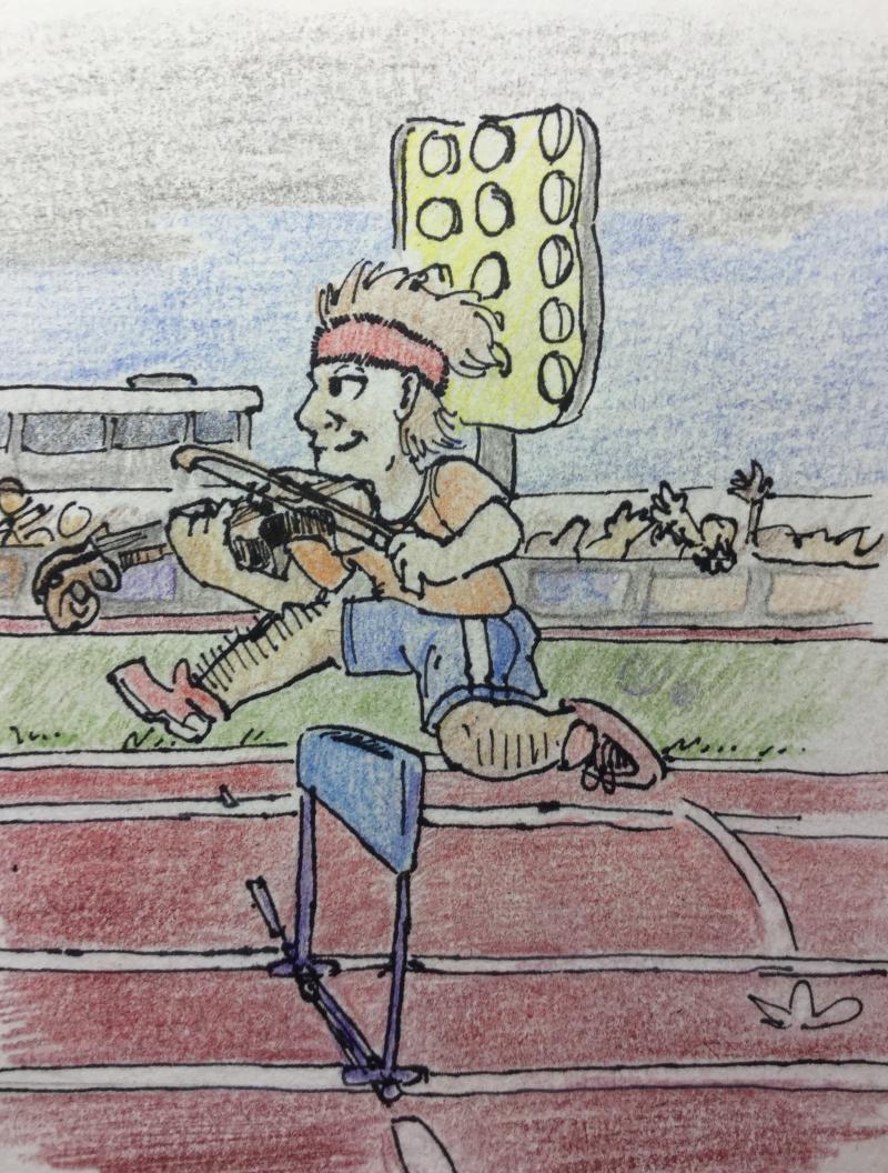 Fiddler on the run