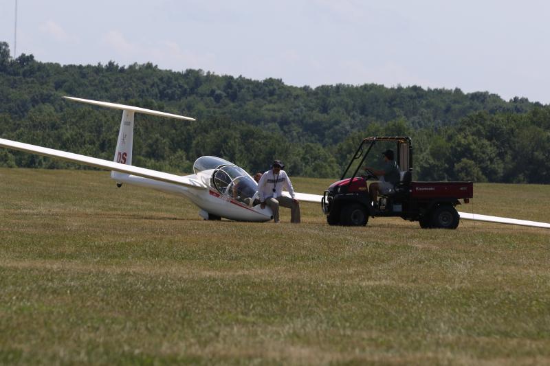 Glider flight 122