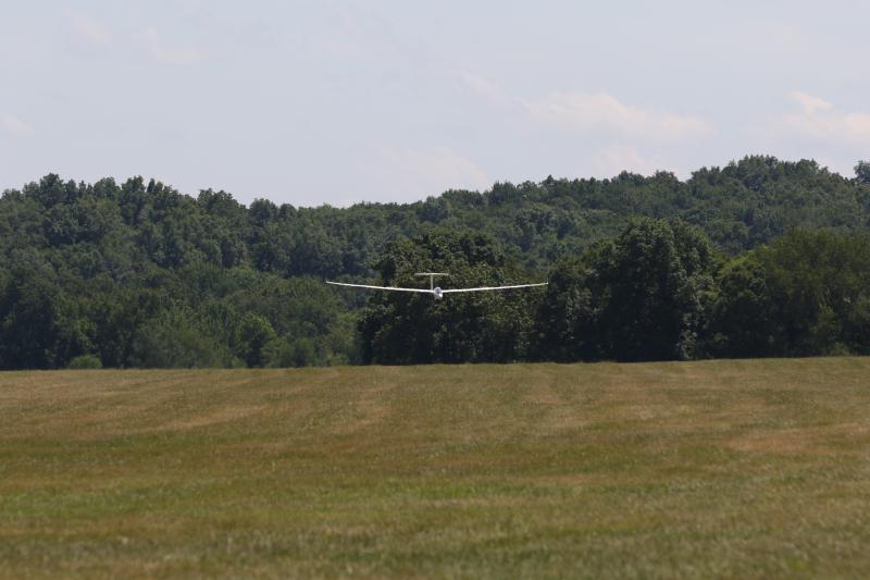 Glider flight 116